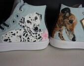 Custom Converse, Pet port...