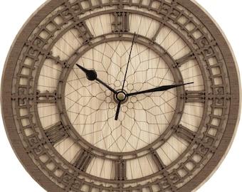 Big Ben Clock in wood - (Clock of Elizabeth Tower)