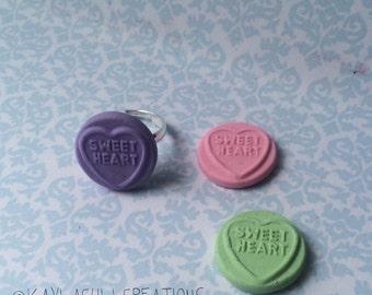 sweetheart love heart ring
