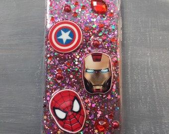 Marvel / spiderman resin mobile /cell  phone case