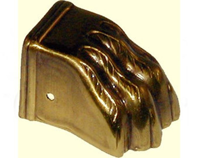 Claw Feet Stamped Brass Table Leg Antique Brass Finish