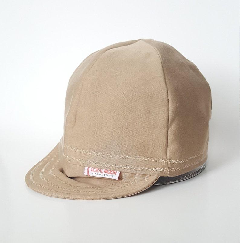 f90f1bf5928d8d Tan Cap Custom Welding Cap Cotton Cycling Cap Hardhat   Etsy