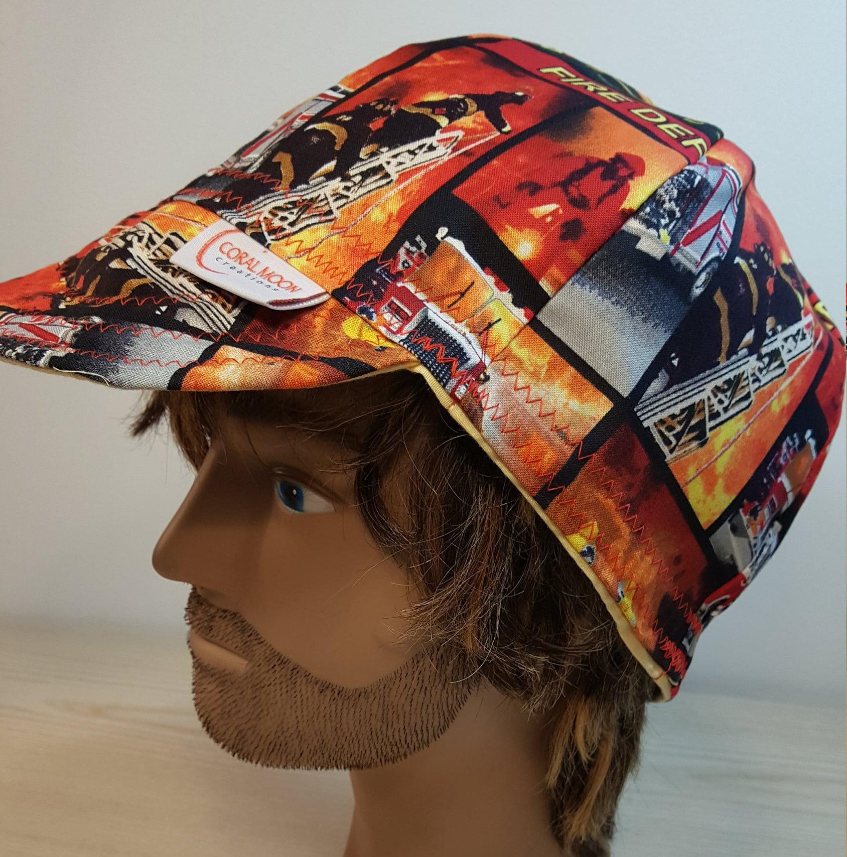 59ef481229c08 Fireman Hat Soft Brim Baseball Cap Helmet Hardhat Liner   Etsy
