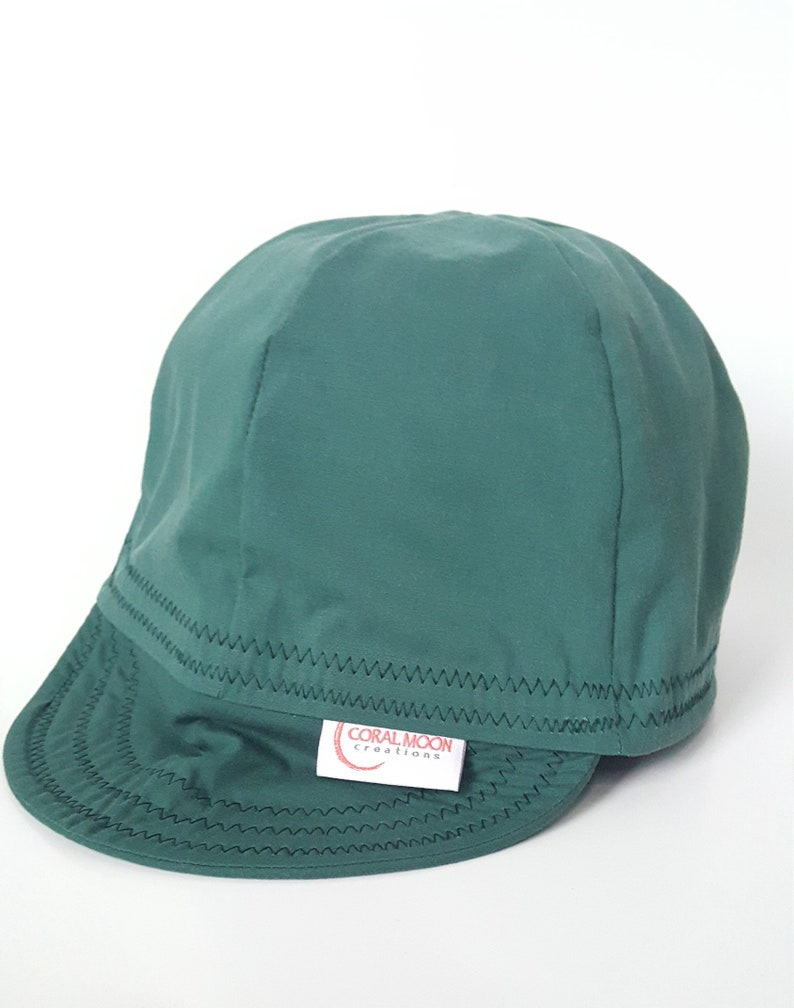 ca26bd727cd461 Dark Green Welding Cap Men's Cap Women's Cap Custom   Etsy