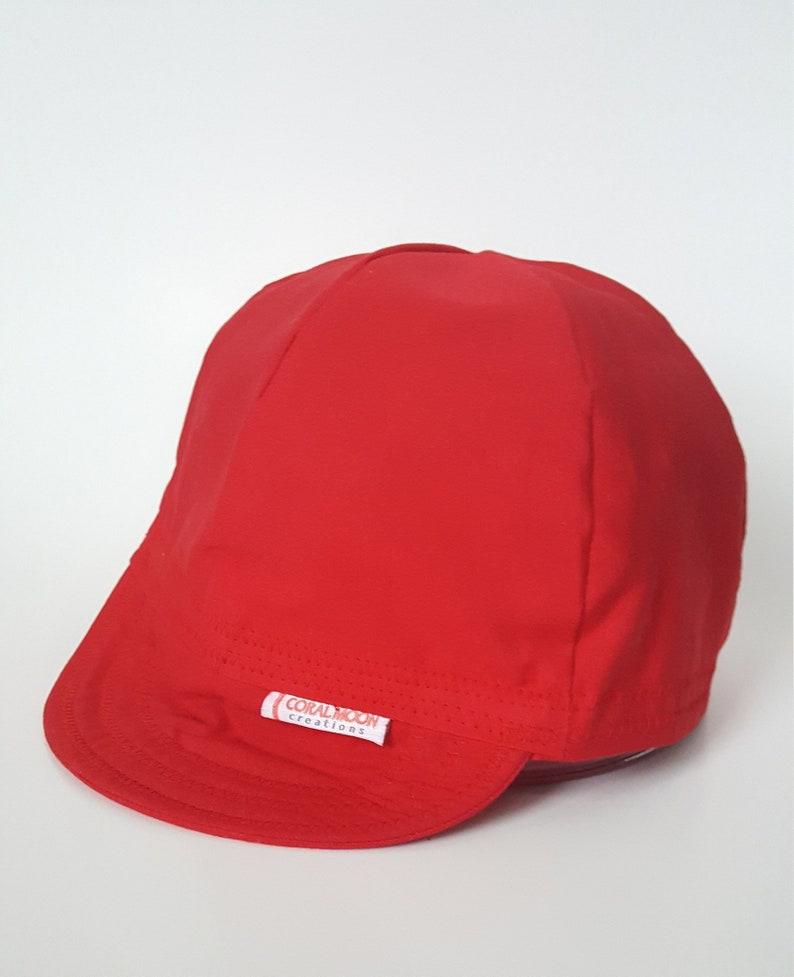 02fa0ca5509ffd Red Welding Cap Red Cycling Cap Custom Cotton Cap   Etsy