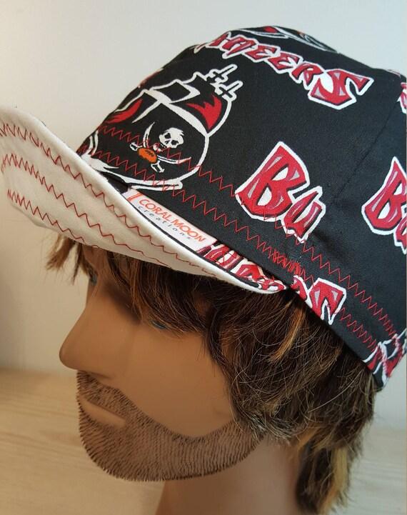 Buccaneers Welding Cap Welding Cap Cycling Cap Hard Hat  dba5d1e613c