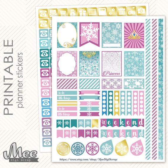 """70 Washi Tape Stickers 1.5/"""" Erin Condren Life Planner Happy Plum Filofax"""