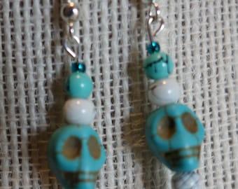 Skull Drizzle Earrings