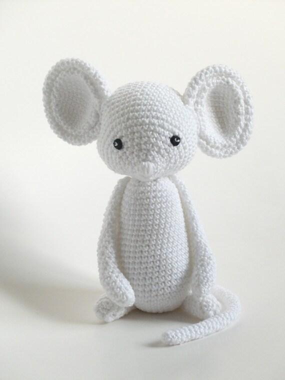 Gehaakte Muis Baby Speelgoed Haken Handgemaakt Cadeau Voor Etsy