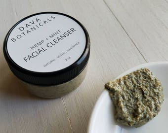 Face Cleanser ~ vegan non soap cleanser, cleansing grains, soap free cleanser, facial cleanser