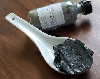 Detox Clay Mask, Vegan Mud Mask, Dry Clay Mask, Organic Clay Mask, Vegan Skincare, DIY Face Mask ~ Vegan Face Mask
