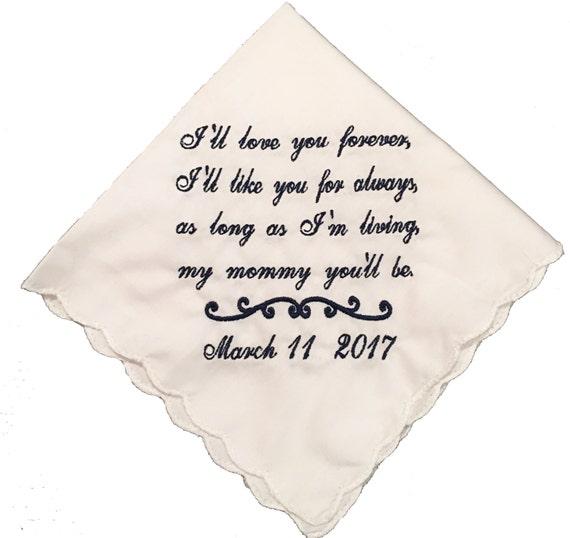 New Ik hou u van Forever zal ik u voor altijd gedicht   Etsy #IV45