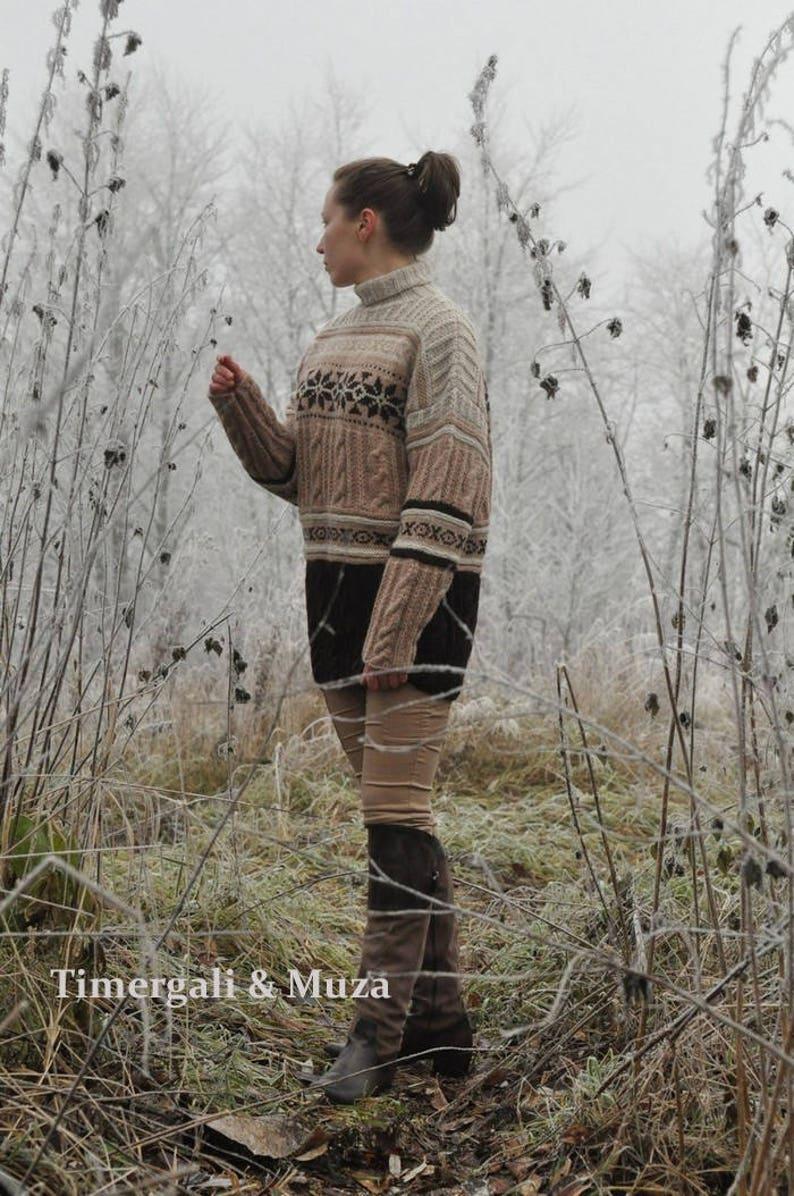 91a86cd4d96 Chandail tricot vacances surdimensionné pull en tricot tricot