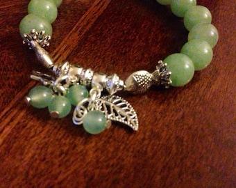 Green Fish Bracelet