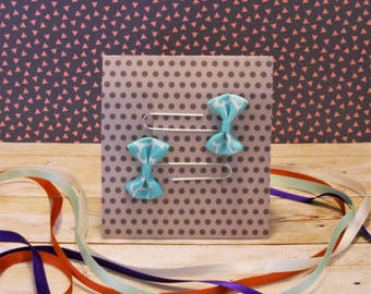 Set of two bow paperclip bookmarks or planner markers