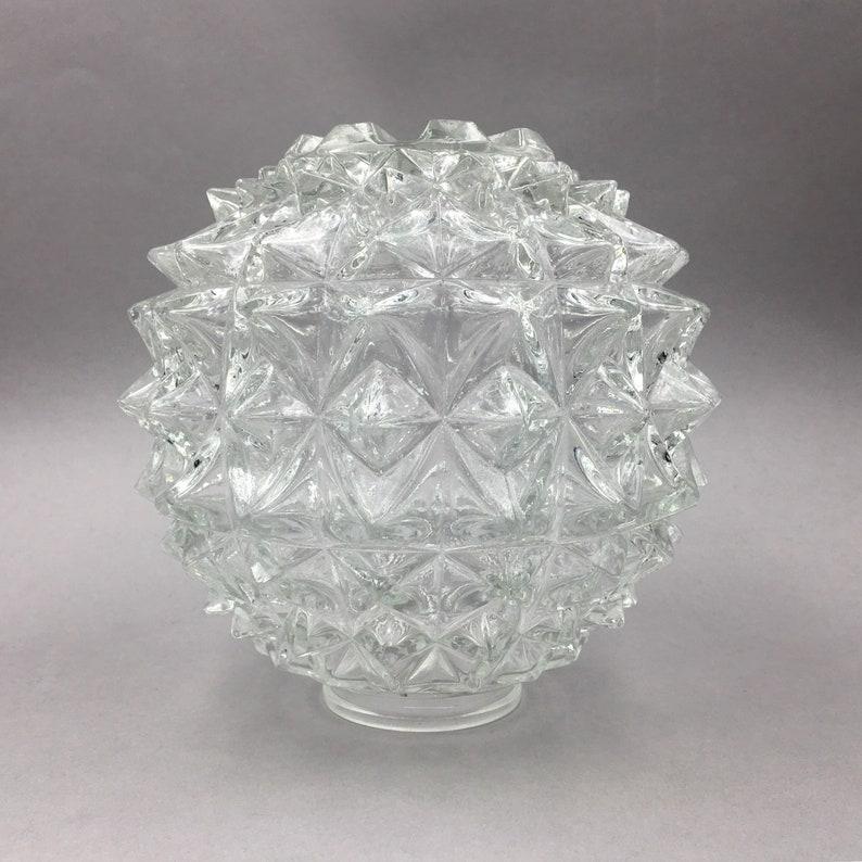 Vintage Glass Lamp Shade Modern Bowl Light Shade Glass Shade Suspension Ceiling Lamp Hall Lampshade Pendant Lighting Industrial Light