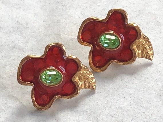 Christian Lacroix earrings - pierced - gorgeous - image 1