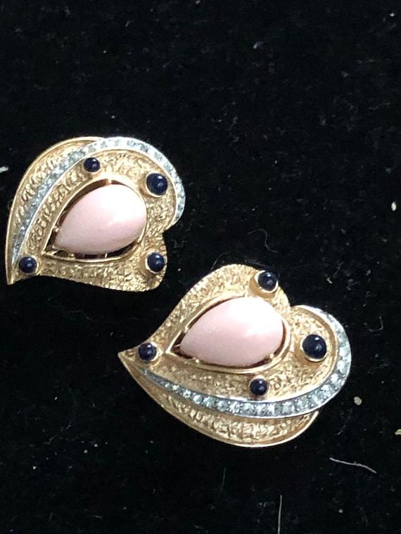 Trifari earrings - rare & gorgeous - image 8