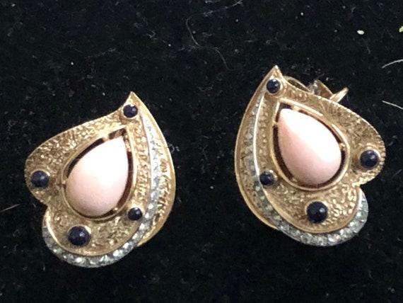 Trifari earrings - rare & gorgeous - image 2