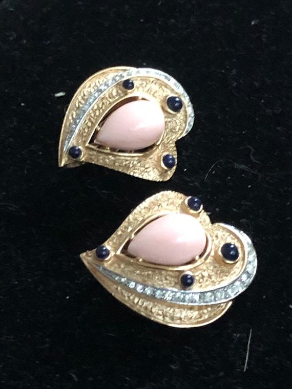 Trifari earrings - rare & gorgeous - image 10
