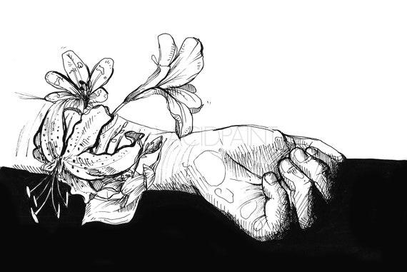 Depression Mental Health Artwork - Etuttor