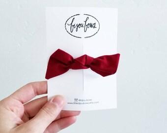 Cherry Knot Headband/Clip