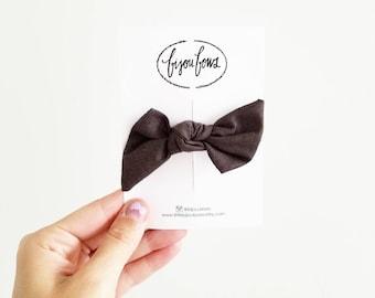 Chocolate Knot Headband/Clip