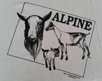 Alpine Dairy Goat T-shirt