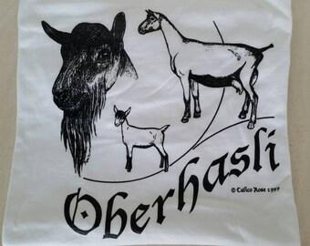 Oberhasli Dairy Goat T-shirt