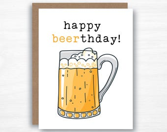 Beer Pun Birthday