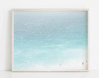 Ocean Printable, Beach Print, Ocean Decor, Ocean Photography, Blue Ocean Art, Beach Printable, Ocean Poster, Beach Poster, Printable Art