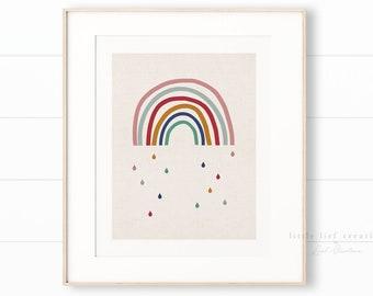 Neutral Kids Rainbow Printable