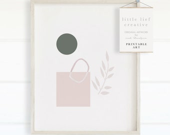 Pastel Art print, Pastel Abstract Art, Abstract Art Print, Printable Abstract Art, Minimalist Art, Pastel Art, Nursery Decor, Home Decor