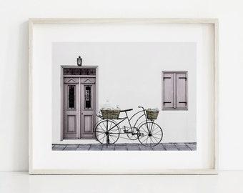 Bicycle Art, Bike Wall Art, Bicycle Print, Bicycle Printable, Bike Art Print, Home Decor, Paris Print, Paris Wall Art, Paris Decor