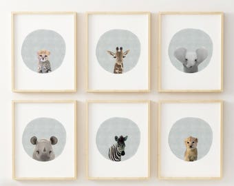 Safari Baby Animals, Baby Animal Prints, Nursery Animals, Safari Animals, Animal Prints, Baby Animals, Safari Animal Prints, Safari Nursery