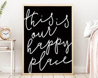 Home Love Sign, Living Room Decor, Happy Place, Home Love Family, Home Welcome Sign, Love Home Sign, Home Printable, Home Print