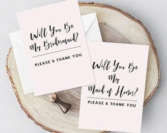 Bridal Party Cards,Printable Bridesmaid Cards,Bridal Party Proposal,Bridal Cards,Bridal Party,Maid of Honor Card,Bridesmaid Card Set