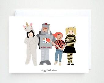 Happy Halloween Printable Card, Printable Card, Happy Halloween, Halloween Printable Card, Kids Halloween Card, Halloween Card for Kids