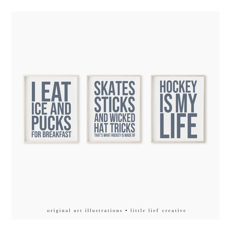 Hockey Print Hockey Art Printable Art Sport Print Hockey image 1