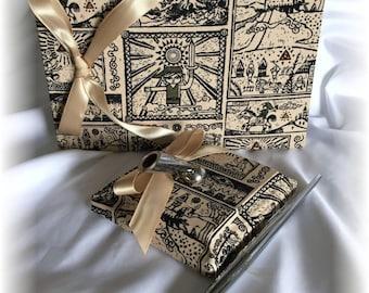The Legend of Zelda Wedding Guest Book and Pen Set, Legend of Zelda Wedding Book and Pen, Geek Wedding Guest Book Pen