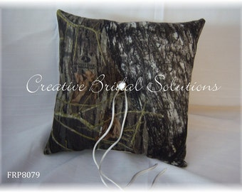 Mossy Oak Wedding Ring Bearer Pillow
