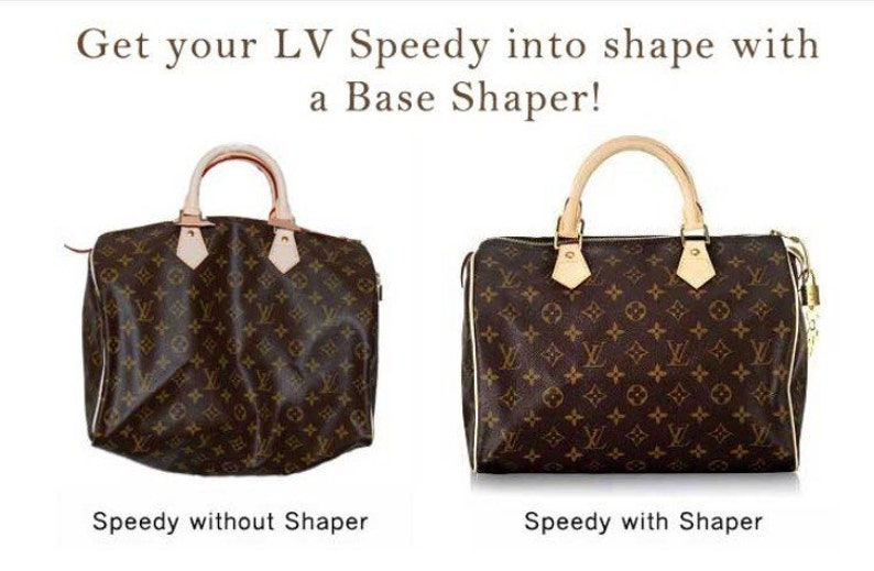 a3f3c301e505 Base shaper for Louis Vuitton Speedy bags