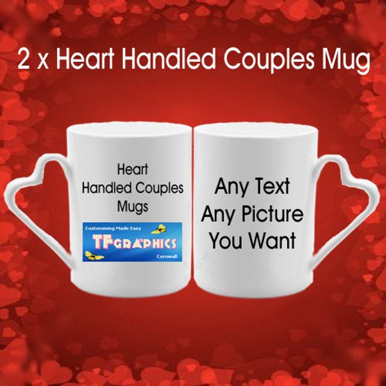 d95bf0b772efa Personalised Couples Mug Set - Valentine custom coffee mug tea mug Gift for  her Personalised mug birthday mug gift Custom name Gift for Him