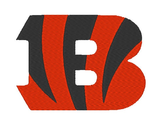 Cincinnati Bengals Embroidery Design 4 6 And Etsy