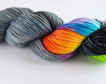 Fingering Weight Merino Sock Yarn Thanks for Mutton Prairie