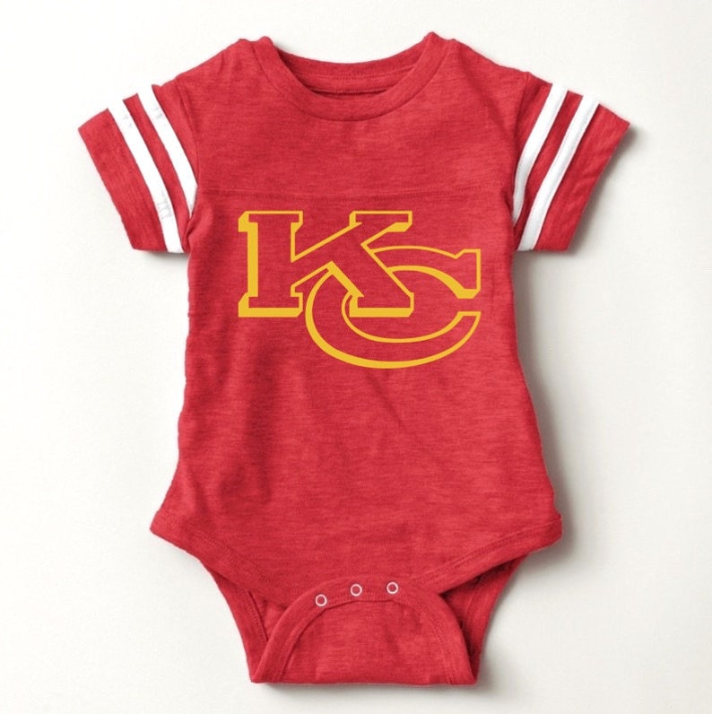huge discount 8619d 98365 Kansas City Chiefs Baby, KC, Chiefs Toddler, Arrowhead, Newborn Shirt,  Football Sunday Funday, Baby Football, Clothing, Boy, Girl Red Yellow