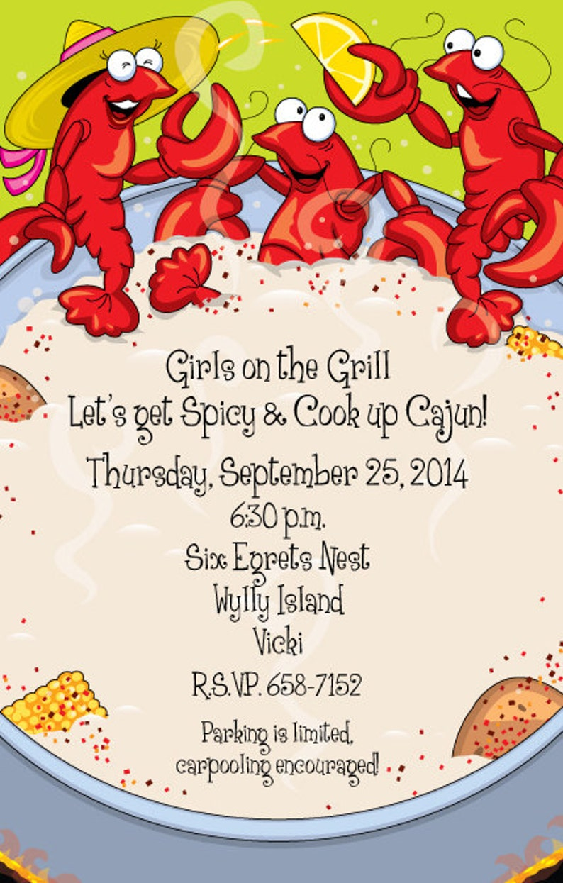 graphic regarding Crawfish Boil Invitations Free Printable identify Crawfish Boil Invitation, Crawfish Boil Social gathering, Crawfish Occasion, Get together Invitation, Crawfish Reduced State Boil, Seafood Boil, Celebration Invitations