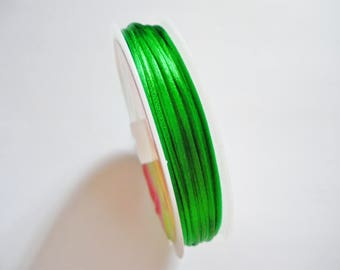 10 green 1 mm nylon thread