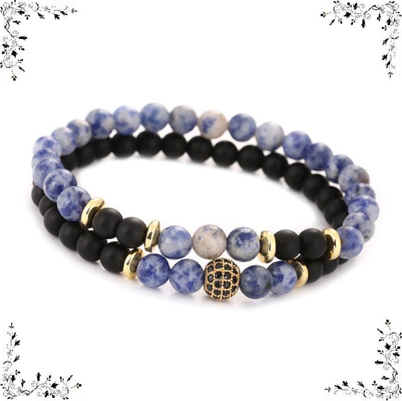 Natural Pearl double bracelet