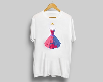 Disney's Aurora T-Shirt - minimalist sleeping beauty aurora t shirt clothing art apparel popsugar
